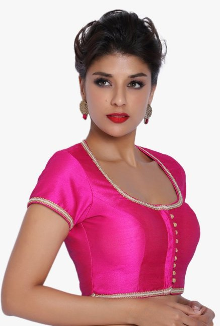 Soch Pink Dupion Blouse
