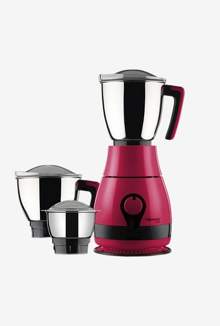 Butterfly Pebble 600 Watt Mixer Grinder (Pink)
