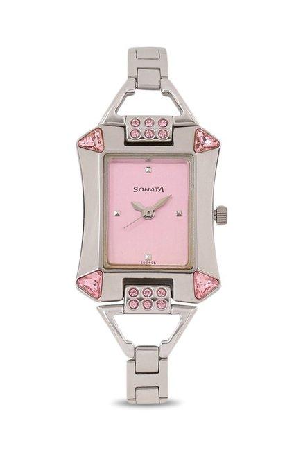 Sonata 8124SM01 Analog Watch (8124SM01)