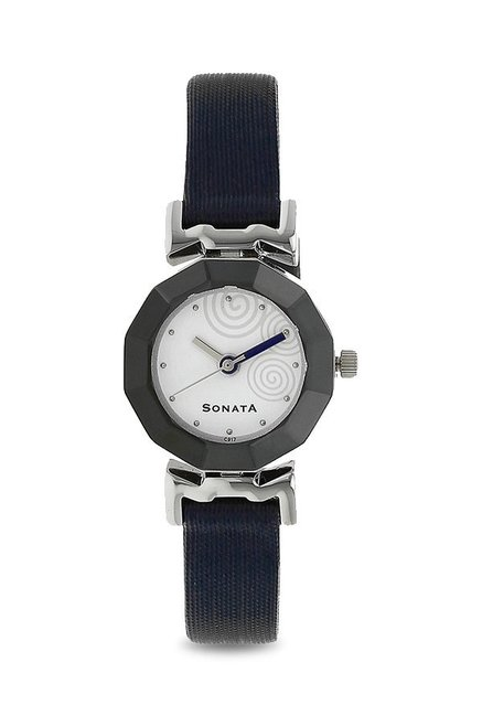 Sonata NH8943SL02CJ Yuva Analog White Dial Women's Watch (NH8943SL02CJ)