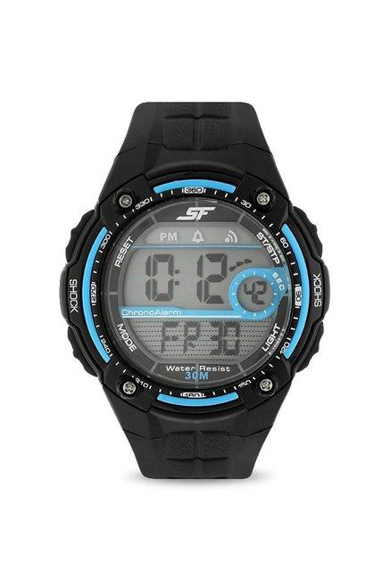 Sonata NH7949PP05J Super Fibre Digital Grey Dial Men's Watch
