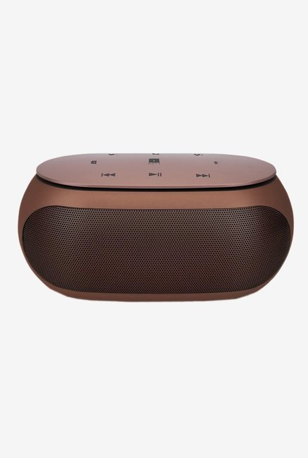 iball SoundBuzz i5 Bluetooth Speaker (Brown/Gold)