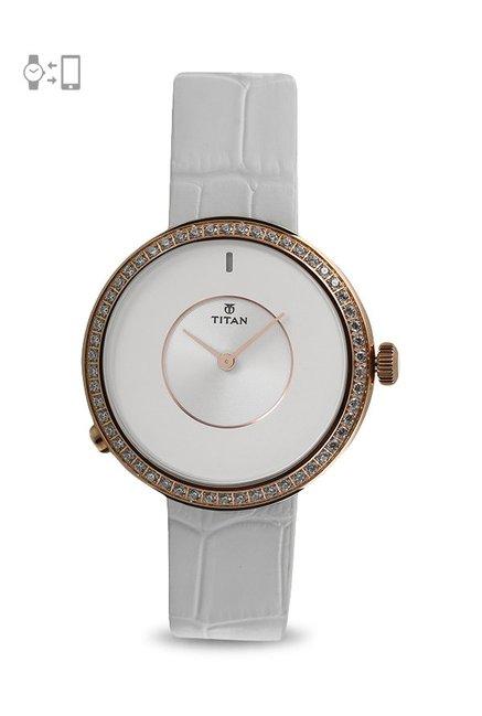2ac95a5cf Buy Titan 90060WL01 WE Smart Watch for Women at Best Price   Tata CLiQ