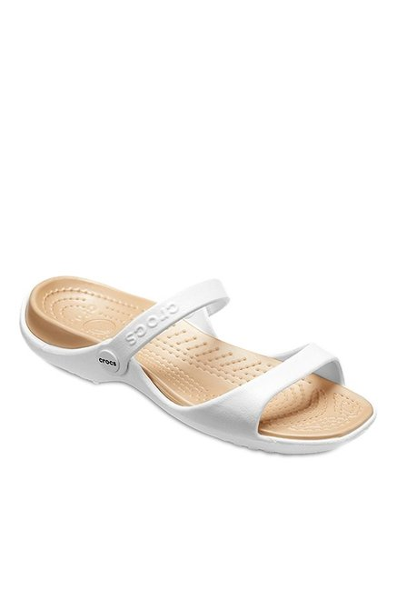 2ee4a6345a7 Buy Crocs Cleo White Casual Sandals for Women at Best Price ...