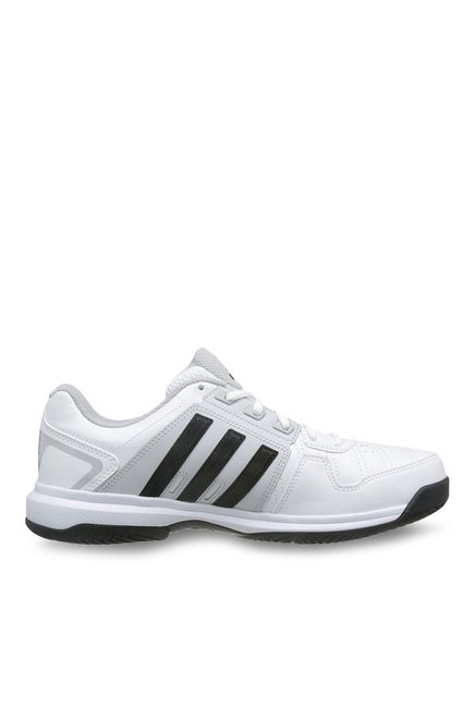 854a516992 Buy Adidas Barricade Approach STR White   Black Tennis Shoes for Men at  Best Price   Tata CLiQ