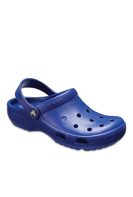 15c146e1d Buy Crocs Coast Cerulean Blue Back Strap Clogs for Men at Best ...