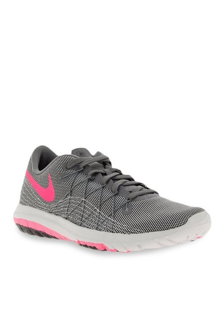 new concept 3208e 189b0 Buy Nike Flex Fury 2 Grey Running Shoes for Women at Best Price   Tata CLiQ