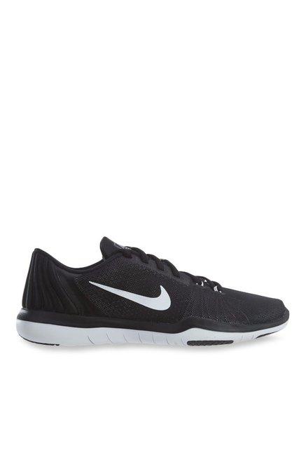 separation shoes c5a2d 259d0 Nike Flex Supreme TR 5 Black Training Shoes