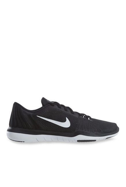 9b64815b225c Buy Nike Flex Supreme TR 5 Black Training Shoes for Women at Best Price    Tata CLiQ