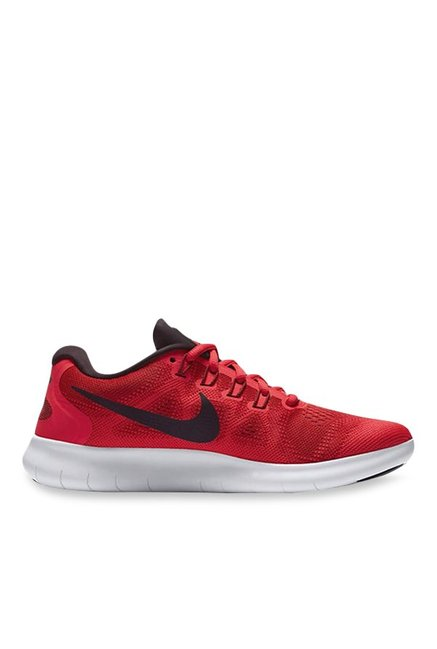 42bfbfea82a1f Buy Nike Free RN 2017 Red Running Shoes for Women at Best Price   Tata CLiQ