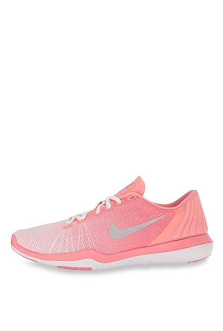 5a37bb3d083a Buy Nike Flex Adapt TR PRM Peach   White Training Shoes for Women at ...