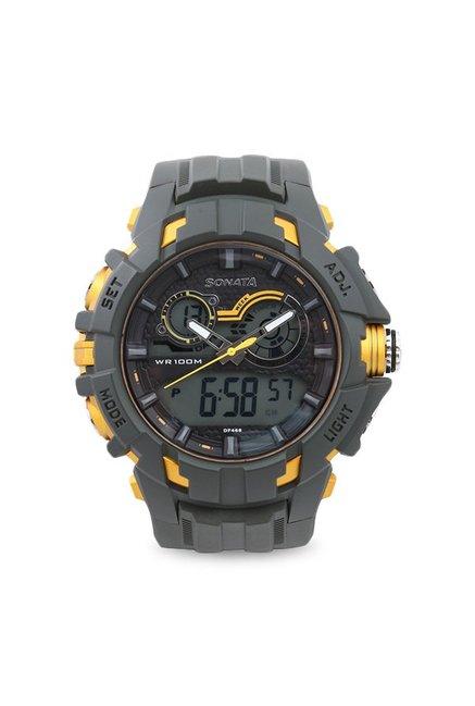 Sonata 77045PP05J Digital Watch