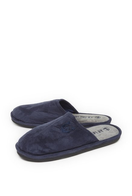74f4c81ae35 Buy SOLEPLAY by Westside Navy Suede Flip-Flop For Men Online At Tata CLiQ