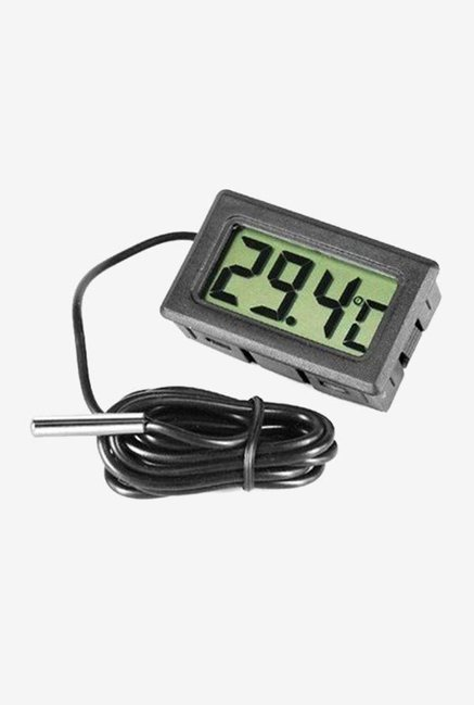 MCP TH-11 Digital Thermometer with LCD (Black)