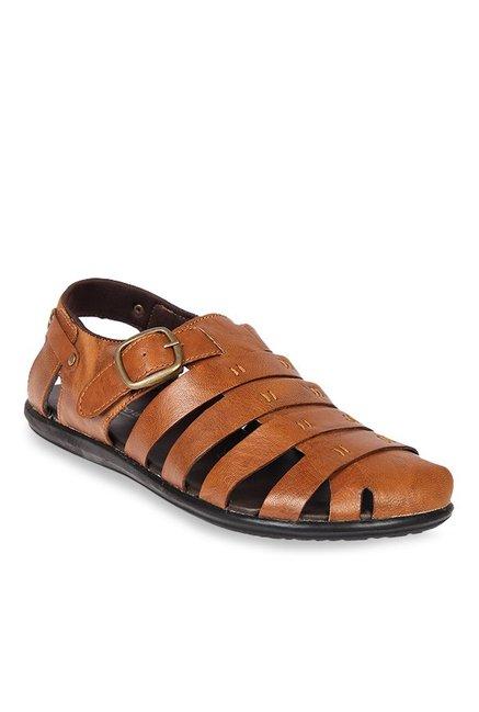985123e38ddb Buy Franco Leone Tan Fisherman Sandals for Men at Best Price ...