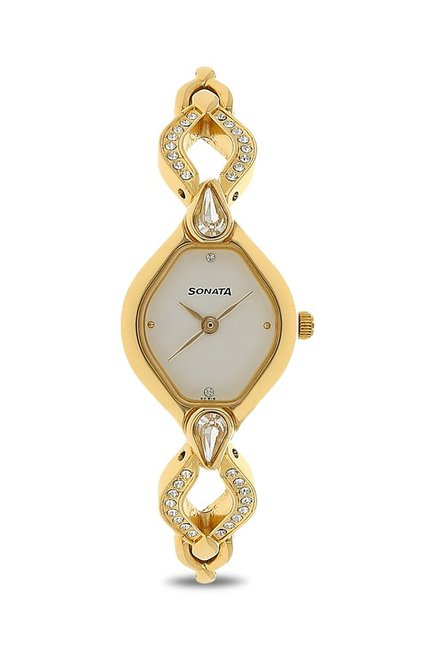Sonata NK8063YM03 Analog Watch for Women