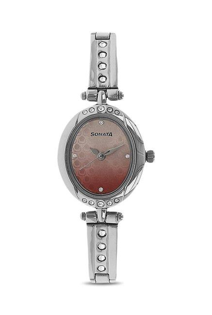 Sonata NK8118SM01 Analog Watch for Women