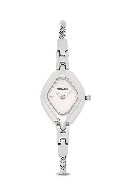 Sonata NK87010SM02 Analog Watch for Women