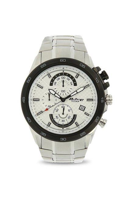 cb133bd1f0 Buy Titan 90046KM01 Octane Analog Watch for Men at Best Price @ Tata CLiQ
