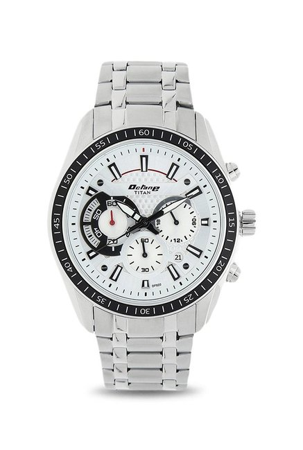 Titan 90077KM01 Octane Analog Watch for Men