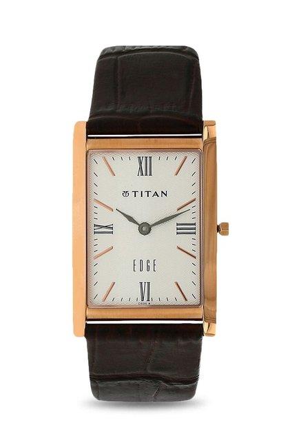 Titan NH1043WL01A Edge Analog Watch for Men