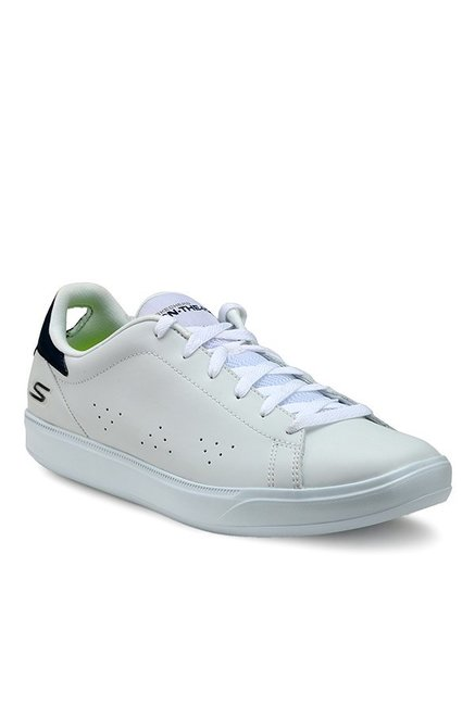 1d38eadca900e Buy Skechers Go Vulc 2 White & Navy Sneakers for Men at Best Price ...