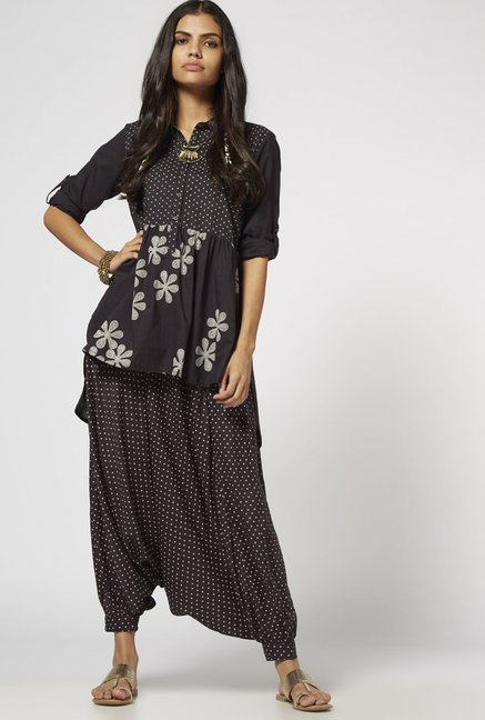 Bombay Paisley by Westside Black Blouse