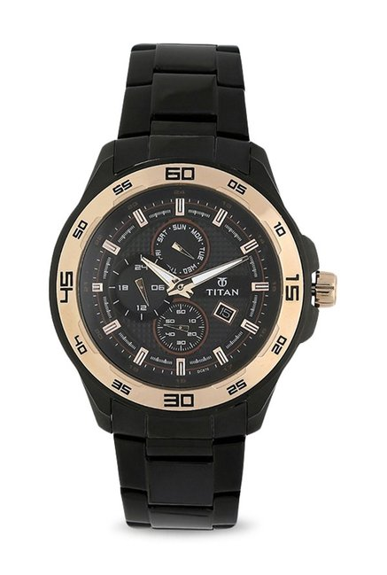 Titan NK90008KM02 Regalia Analog Watch for Men image