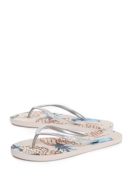 a888631c66ca Buy Head Over Heels by Westside Beige Flip-Flops For Women Online At Tata  CLiQ