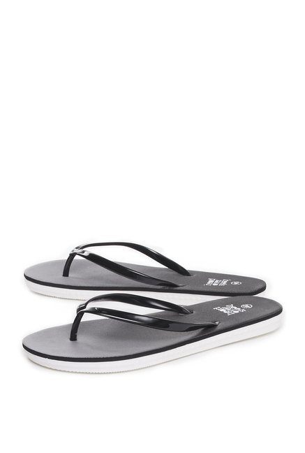 faab88a071ad Buy Head Over Heels by Westside Black Flip-Flops For Women Online At Tata  CLiQ