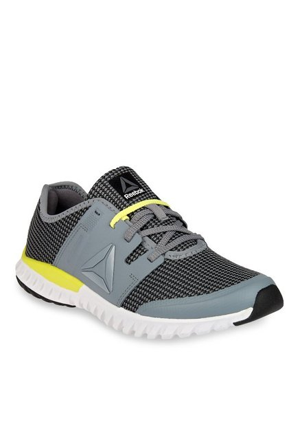 2ba15edc4706 Buy Reebok Twist Run Dust Grey   Black Running Shoes for Women ...