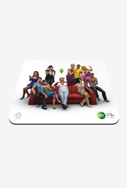 SteelSeries QcK The Sims 4 Edition Mouse Pad  White