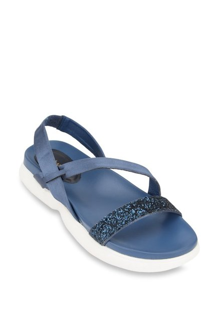 67e6cf7a8aa0 Buy Catwalk Blue Sling Back Sandals for Women at Best Price   Tata CLiQ