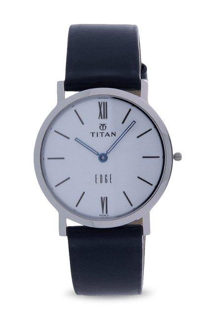Titan Edge NH679SL01 Analog White Dial Men's Watch (NH679SL01)