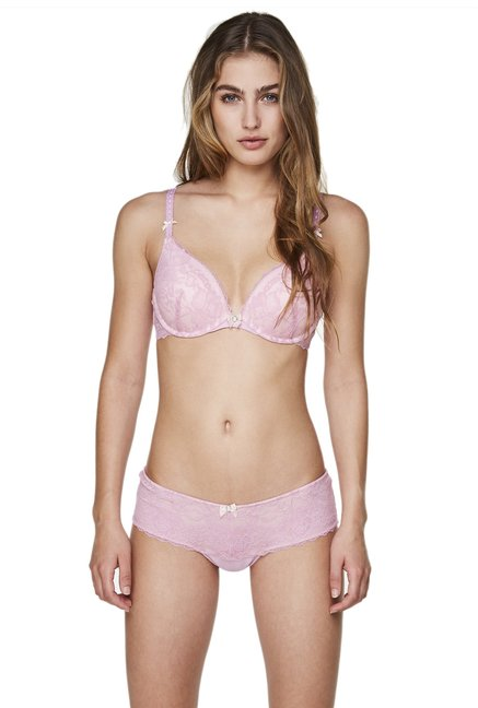 Hunkemoller Pink Glam Under Wired Theresa Seamless Bra