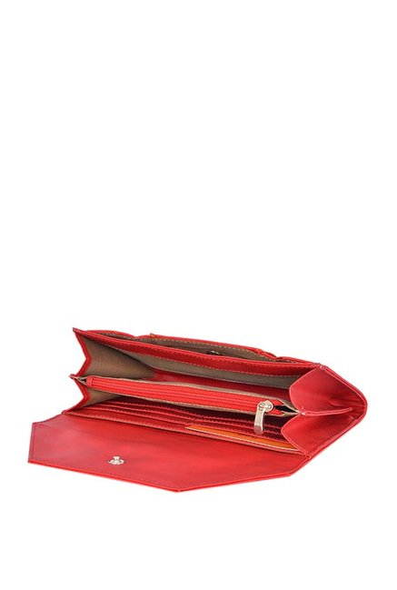 Baggit Lw Trail Bindas Red Envelope Wallet