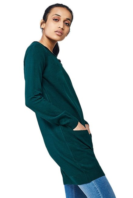 AND Emerald Textured Tunic