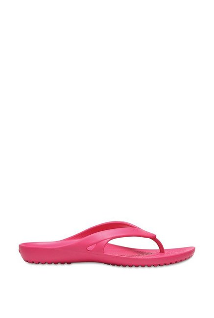 f006454df1be0 Buy Crocs Kadee II Paradise Pink Thong Sandals for Women at Best ...