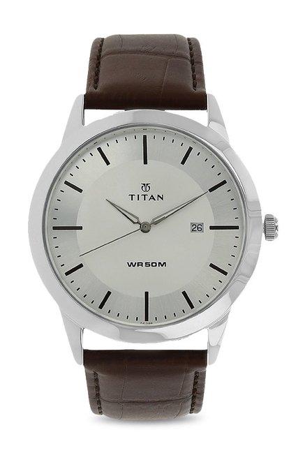 88d8b37d4 Buy Titan NK1584SL03 Classique Analog Watch for Men at Best Price   Tata  CLiQ