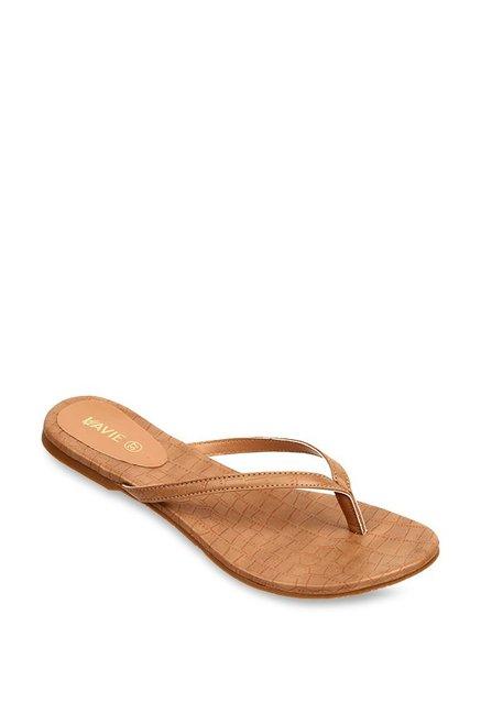 f073ca94bece Buy Lavie Beige Thong Sandals for Women at Best Price   Tata CLiQ