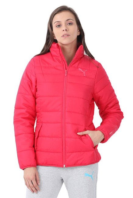Buy Puma Pink Quilted Essentials Padded