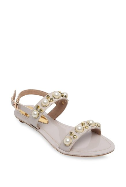 89d22805b4af Buy Catwalk Cream Back Strap Sandals for Women at Best Price ...