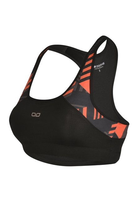 Doone By Sportzone Orange Fitness Top