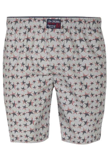 fa54ae0373 Buy Jockey Off White Regular Fit Printed Boxer Shorts - US57 for Men Online  @ Tata CLiQ