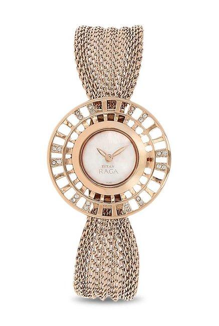 Buy Titan NK9931WM01 Raga Analog Watch for Women at Best