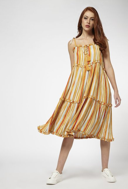 Nuon by Westside Yellow Naomi Dress