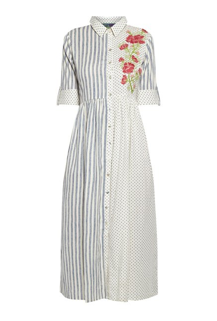 Bombay Paisley by Westside Off White Dress
