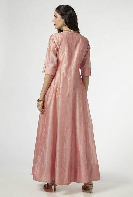 Vark by Westside Peach Maxi Dress
