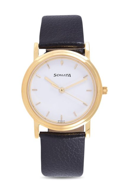 Sonata NJ1141YL02C Analog Watch for Men