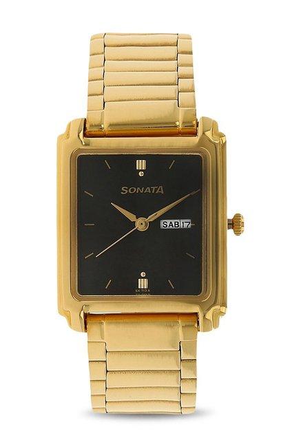 Sonata NH7053YM06A Analog Black Dial Men's Watch (NH7053YM06A)